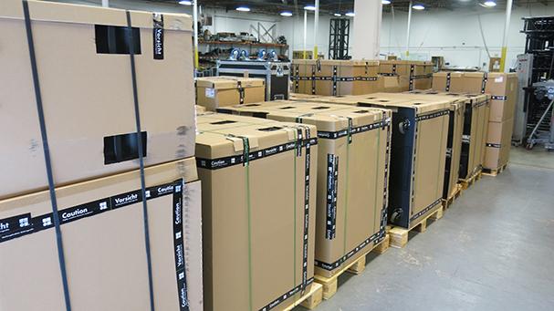 d&b audiotechnik shipment